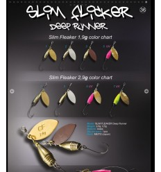 CRAZY FISH SLIM FLICKER DEEP RUNNER 3,5g