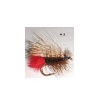 elk hair caddis tag (mouche seche)
