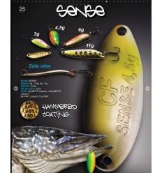 CUILLER CRAZY FISH  SENSE 3g