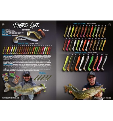 CRAZY FISH VIBRO FAT 10 cm