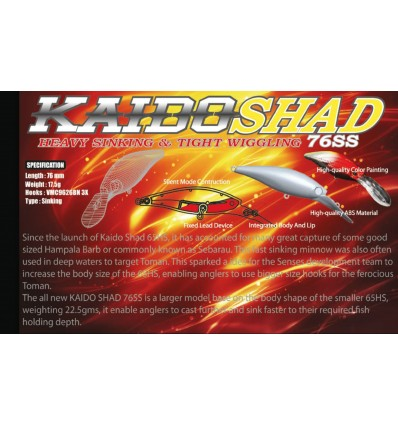 KAIDO SHAD 76SS