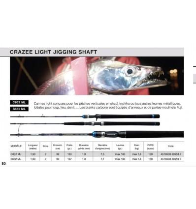 CRAZEE LIGHT JIGGING SHAFT