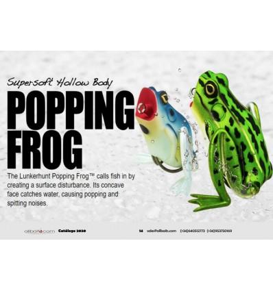 popping frog de Lunkerhunt