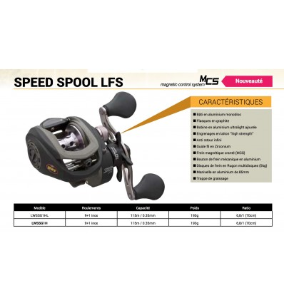 Lew's speed spool LFS 6.8