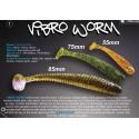 vibro worm Crazy fish 5 cm